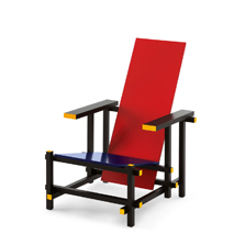 Le RED AND BLUE de Cassina